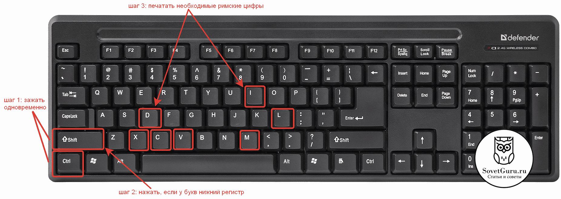 Римские цифры в латинском регистре на клавиатуре | Как написать римские цифры на клавиатуре