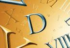 Как написать римские цифры на клавиатуре