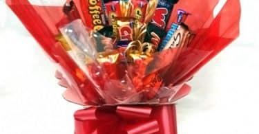 Букет из конфет и шоколадок