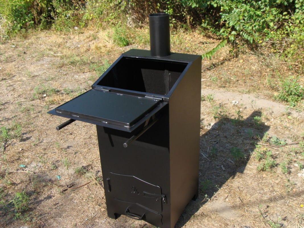 Специальная мусоросжигательная печь | Можно ли сжигать мусор на своем участке