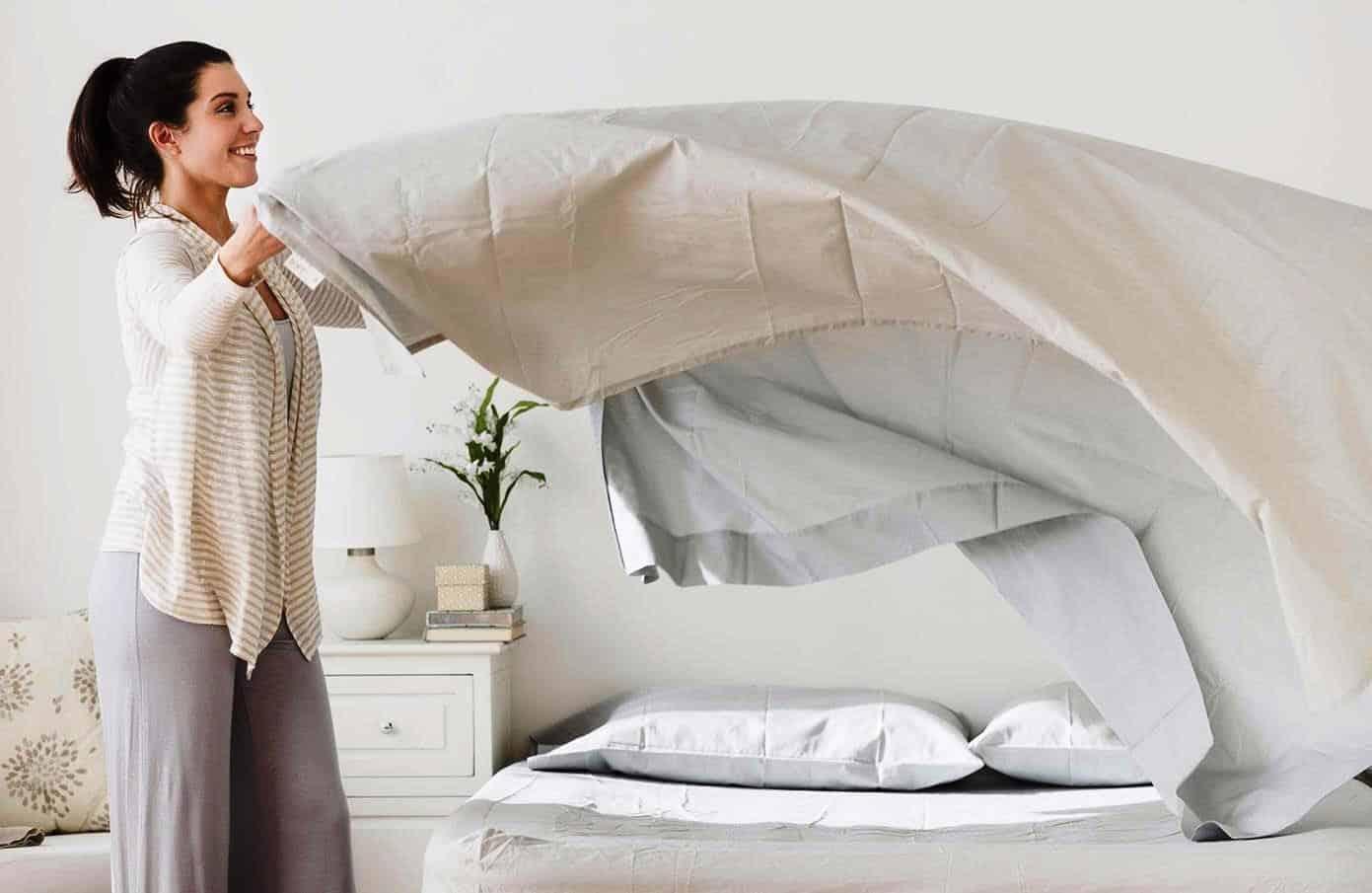 Как часто надо менять постельное белье взрослым