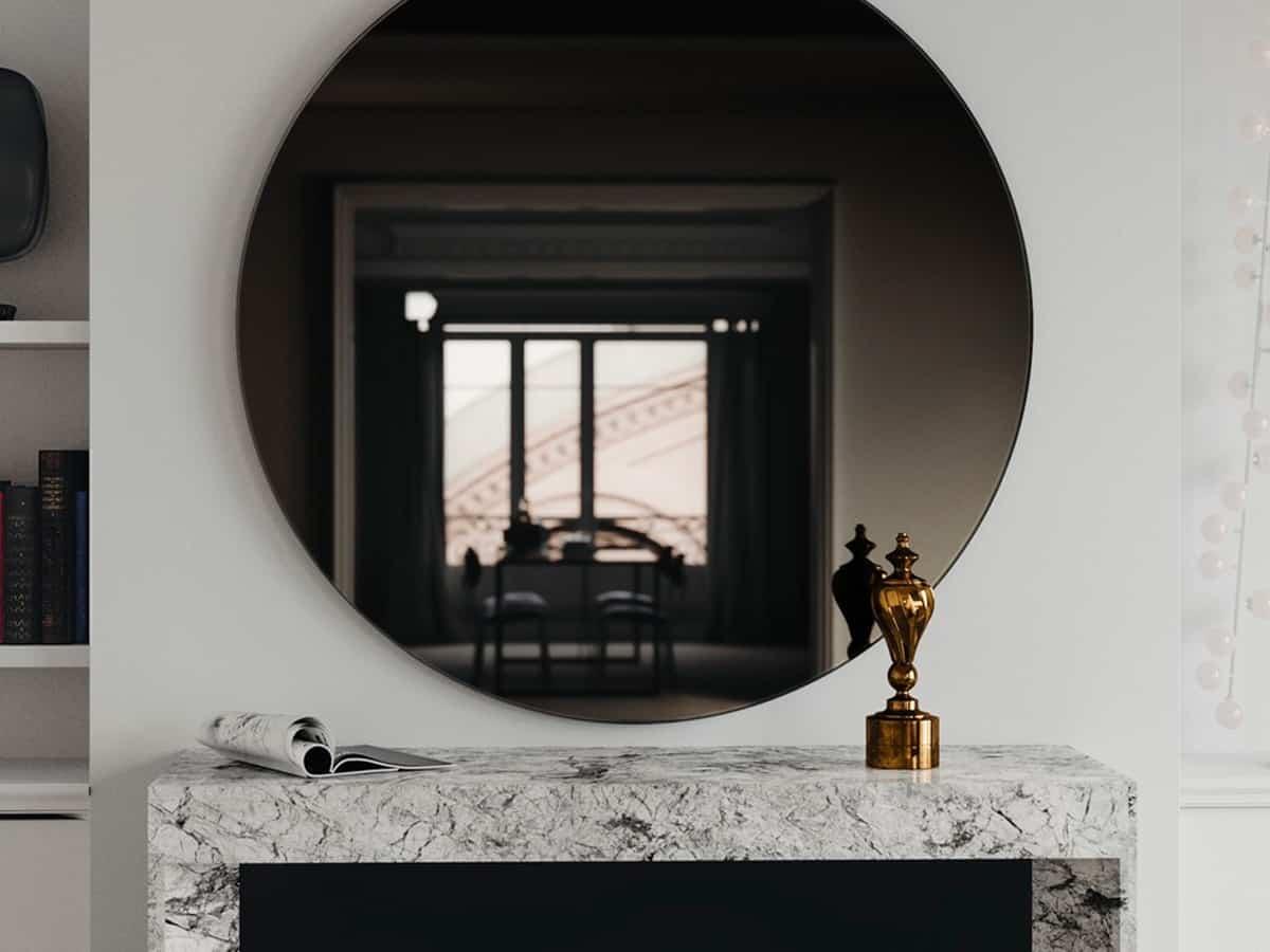 Типы зеркал | Как сделать зеркало своими руками