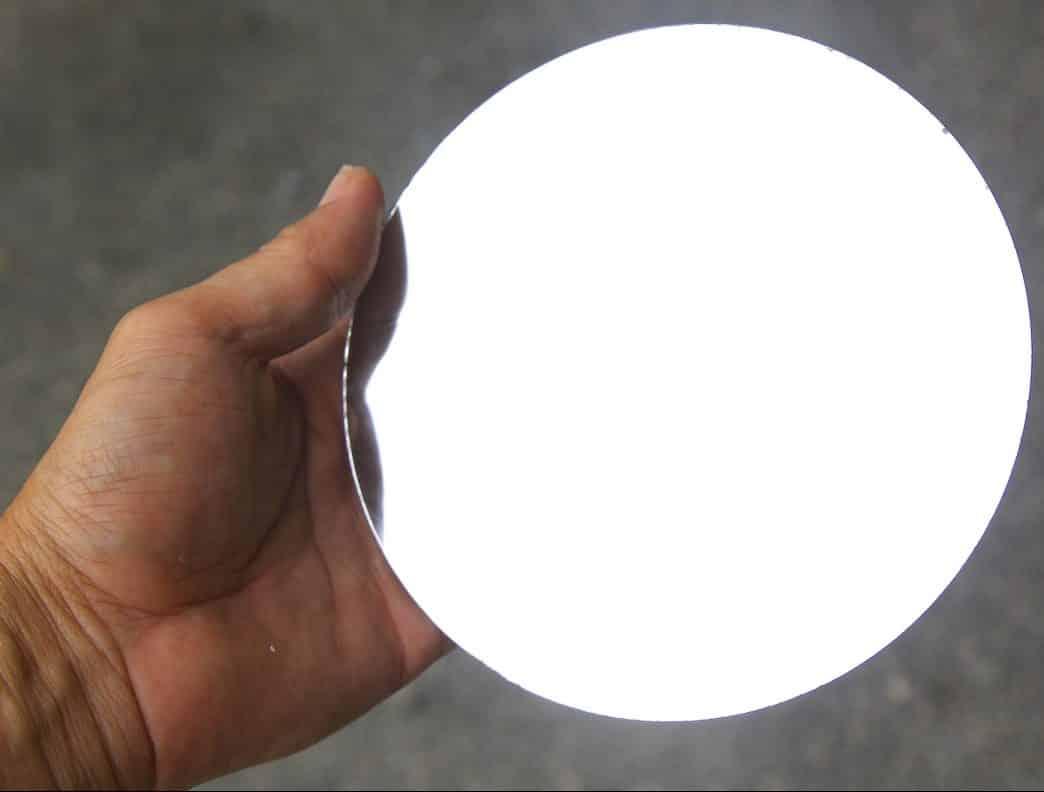 Как сделать зеркало из металла своими руками