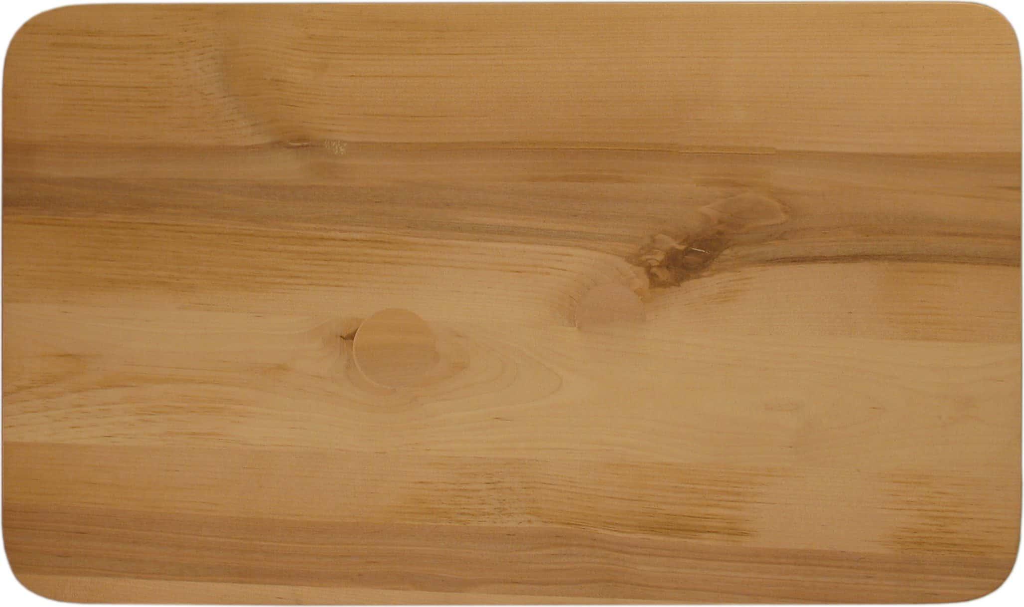 Из каких пород деревьев делают разделочные доски