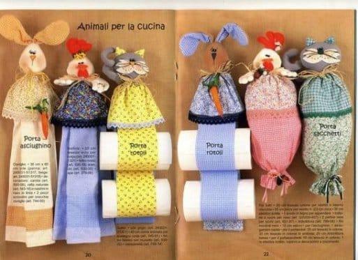 Куклы для пакетов своими руками | Как хранить пакеты на кухне: идеи и лайфхаки