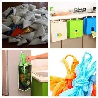 Как и где хранить пакеты на кухне — идеи своими руками | Как хранить пакеты на кухне: идеи и лайфхаки