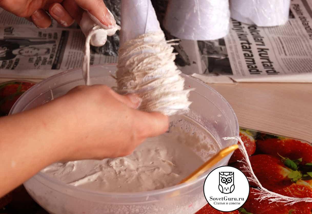 Как сделать елку из конуса своими руками | Как сделать конус из бумаги пошаговая инструкция
