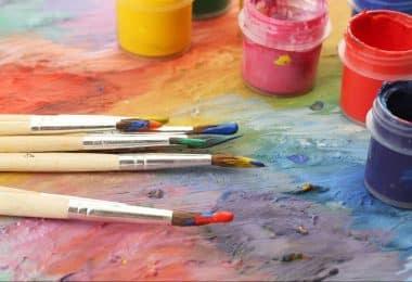 Чем разбавить акриловую краску для рисования