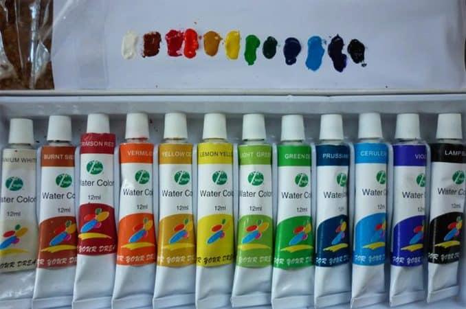 Чем разбавить акриловую краску | Чем разбавить акриловую краску для рисования