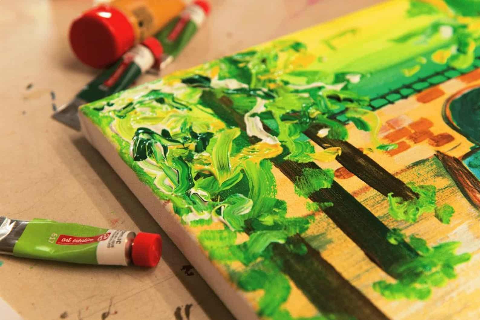 Как подобрать разбавитель для акриловых красок | Чем разбавить акриловую краску для рисования