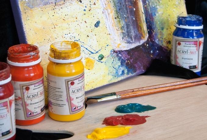 Акриловые краски для рисования засохли, чем развести | Чем разбавить акриловую краску для рисования