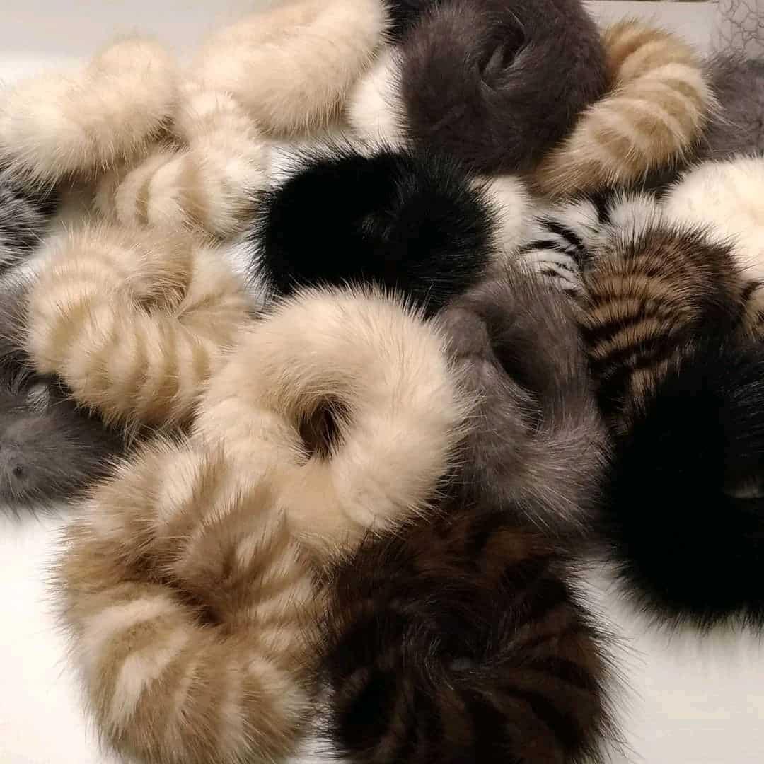 Меховая резинка для волос | Что можно сделать из старой шубы