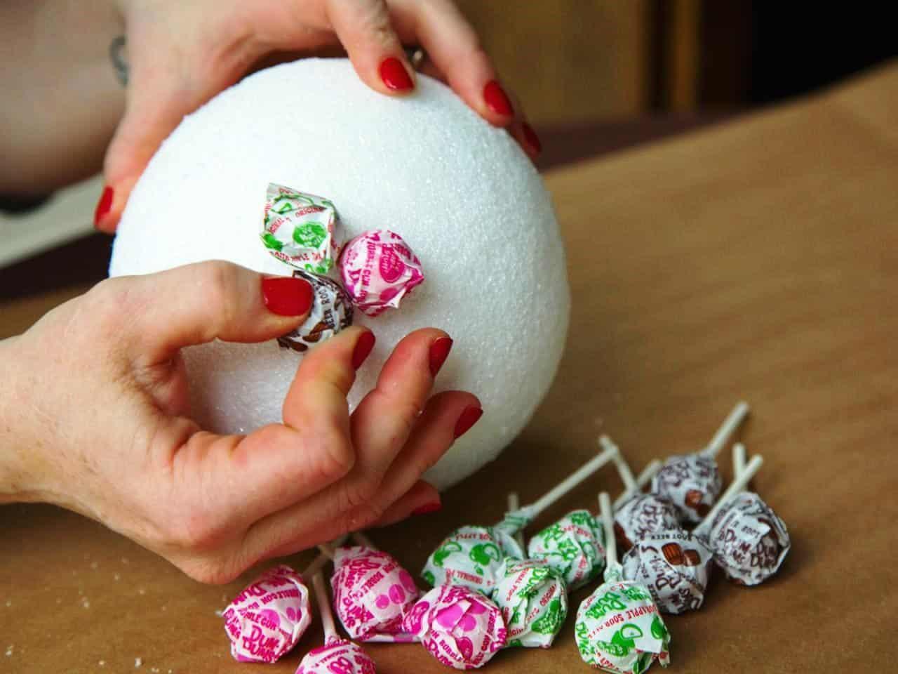 Пенопластовый шар для топиария своими руками | Как сделать шар из пенопласта своими руками: пошаговые инструкции с фото и видео