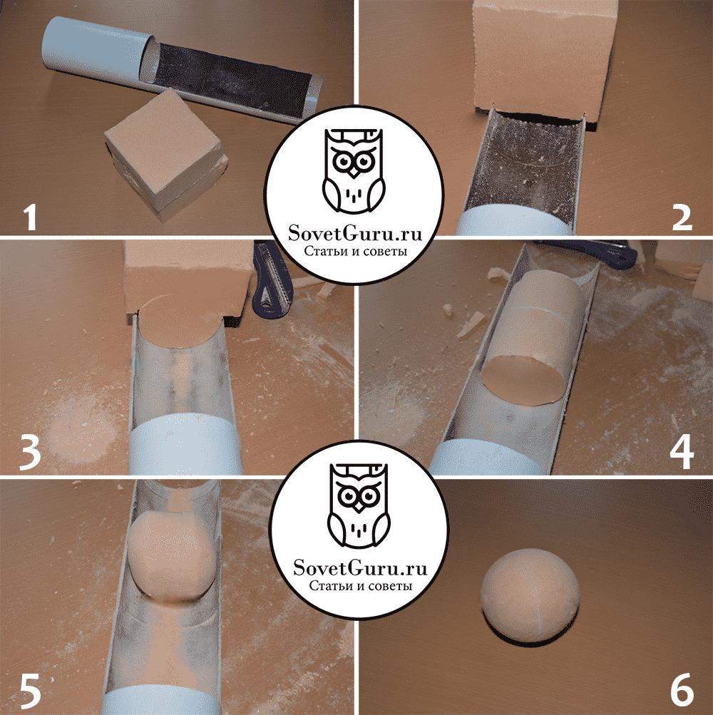 Инструменты для изготовления пенопластовых шаров | Как сделать шар из пенопласта своими руками: пошаговые инструкции с фото и видео