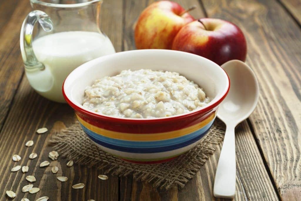 Как сварить жидкую овсяную кашу на молоке | Как сварить жидкую кашу