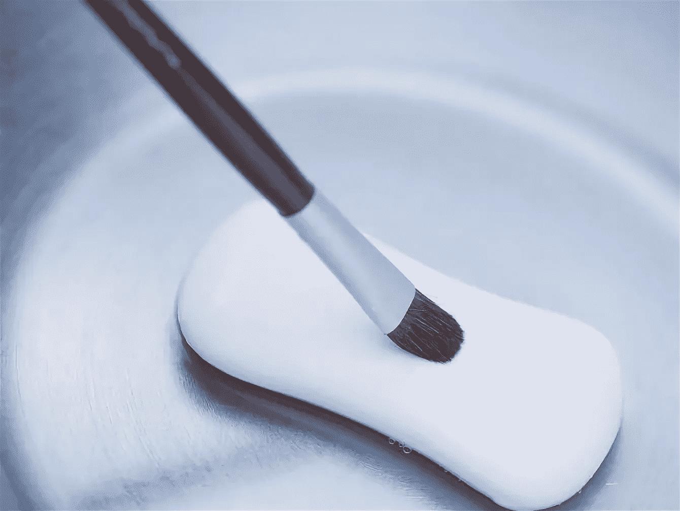 Как мыть кисти для макияжа твердыммылом | Как мыть кисти для макияжа в домашних условиях