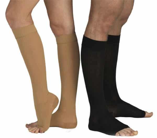 Какие чулки выбрать — до колена или до бедра | Как подобрать компрессионные чулки по размеру