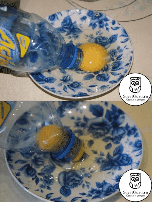 Какотделить желток от белка бутылкой | Как отделить желток яйца от белка: более 15 способов и приспособлений