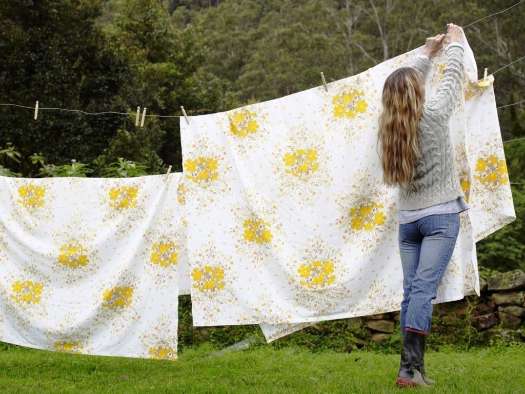 Как сушить постельное белье | Нужно ли стирать новое постельное белье