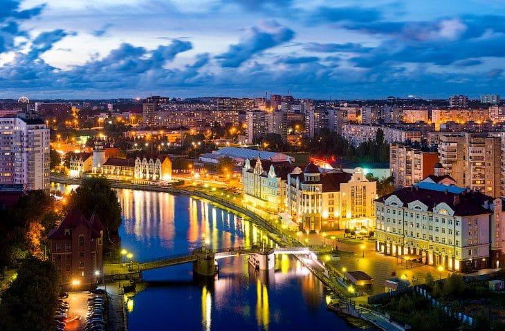 Калининград | В каких городах России тепло зимой: 11 мест с мягким климатом