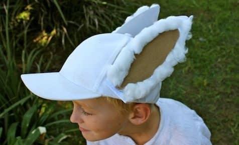Как сделать уши зайца своими руками